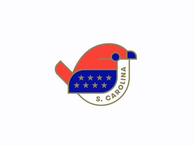 State Bird Pin