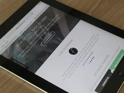 Supernova - Responsive HTML Theme website template theme html design iphone layout ipad web showcase