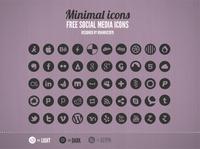 Free Social Media Icons (PSD)
