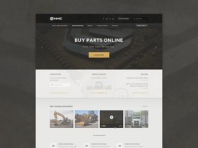 Construction Theme construction web web theme website site landing home rotator slideshow not flat homepage