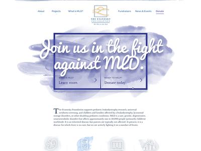 Nonprofit homepage