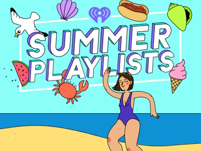 iHeartRadio Summer Playlists Illustration