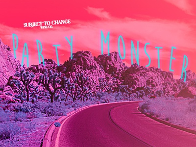Party Monster Label