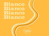 Bianco White Blend Wine Label