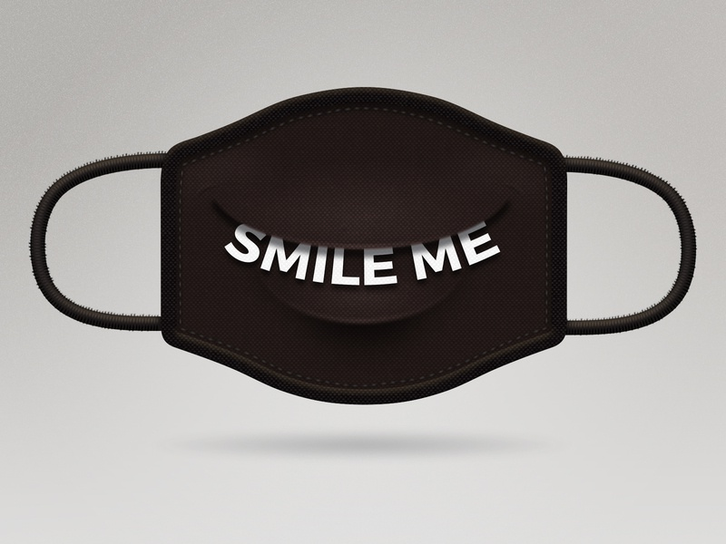 ZMILE ME PLEAZE mask please smile