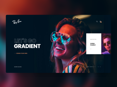 Ray-Ban Gradient Concept 😎