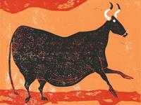 Bull Dribbble