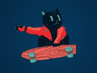 Another Cat Sticker
