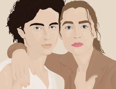 Timothée Chalamet & Saoirse Ronan✨