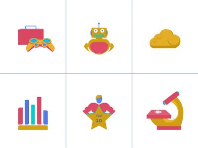 USPs icons