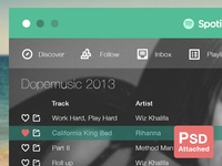 (PSD) Spotify Flat