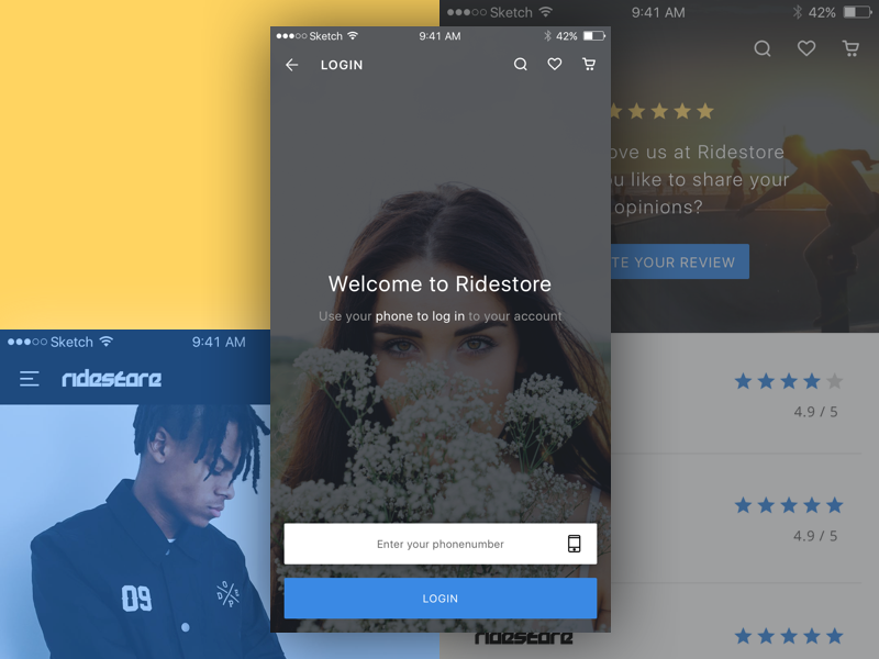 Tumblr Login Screen Not Working: Shopping App By Nabil