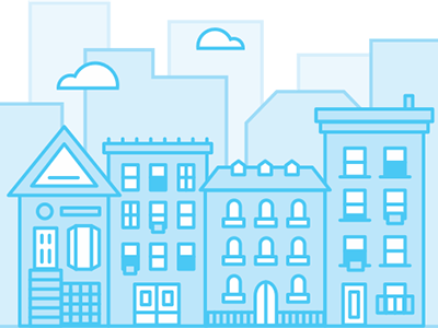 Rental Illustration homepage marketing design illos illustration