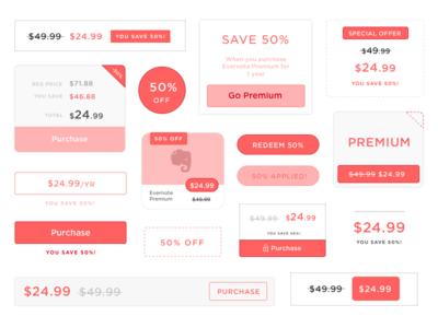 Discount Incentive UI promotions incentives e-commerce commerce ux design typography ui discounts