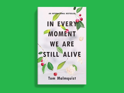 In Every Moment We Are Still Alive typography tactile book cover
