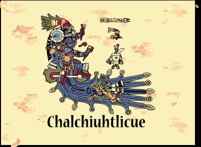 Aztec Goddess Chalchiuhtlicue