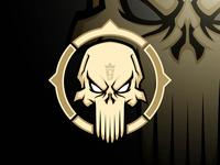 Skull Annihilator mascot logo