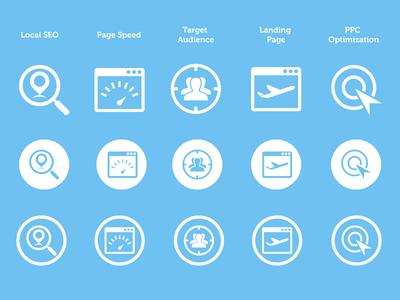 Free SEO Services Icons