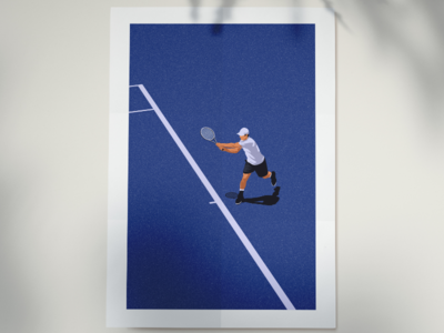 Tennis Wall Poster