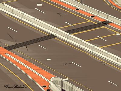 An empty Road!