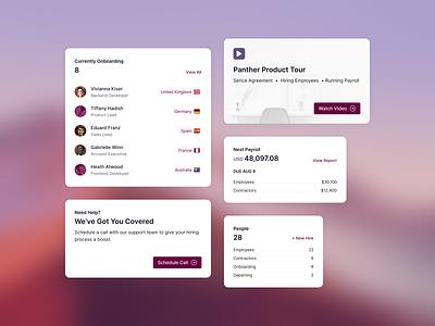 Dashboard Cards figma reporting statistics app finance flat minimal fintech hr clean b2b saas web app web cards ui cards admin ui dashboard