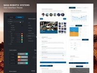 Nasa Robotic Systems User Interface Theme