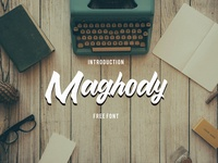 Free Font - Maghody
