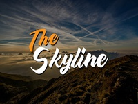 Typography - The Skyline