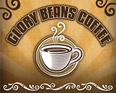 Logo for Glory Beans Coffee design logo coffee