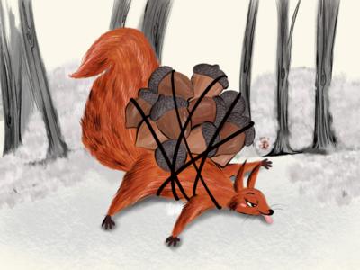 Stalking for winter