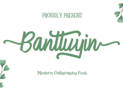 Banttuyin vintage font cute art spring wedding calligraphy design freebies free font font awesome freebie font design font digital product
