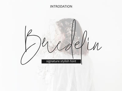 Bredelin-signature font freebies free font resume template brochure design digital product font design freebie font awesome font design