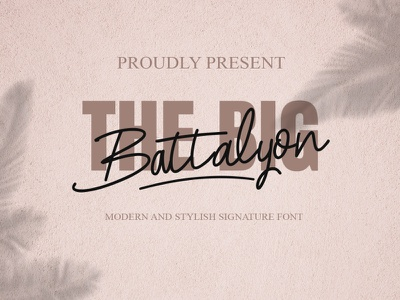 the big battalyon cute font freebie valentine day digital product