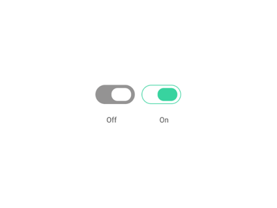 Off and On switch #dailyUI dailyui