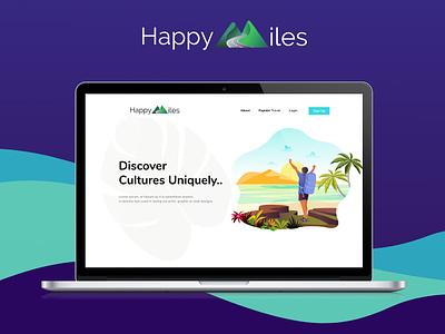 Website Presentation 2x visual design web usability concept illustration website design tourist travel illustration