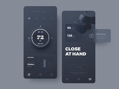 Virtual climbing data detection mobile ux ui app design
