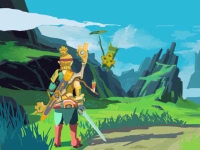 Link and Yahaha