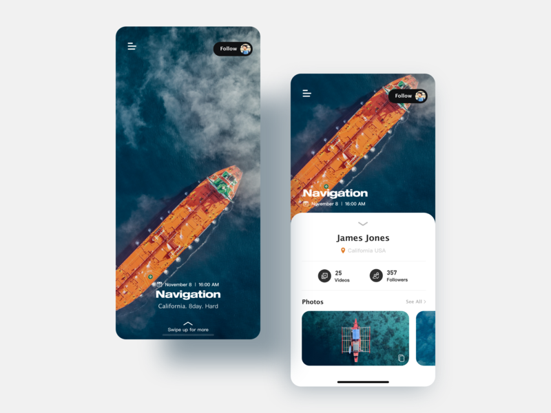 Travel diary 2 illustration app ux ui mobile design