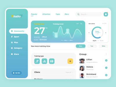 Vitality Web Design
