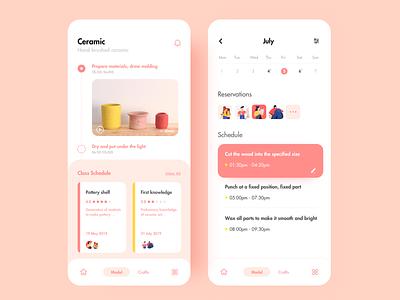 Course Introduction mobile ux ui app illustration design