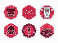 LEAP badges