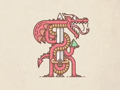 Dragon dragon die dice rpg monster sword dungeons