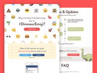 #DinosaurEmoji Website
