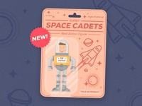 Super Space Cadets – Real Action Figure