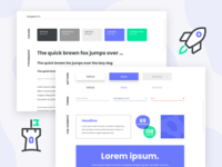 Styleguide icons product design library elements buttons typography assets ui guidelines branding styleguide