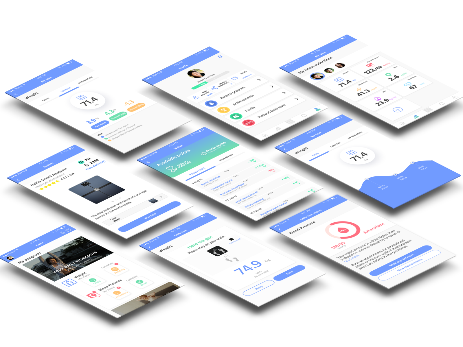Mobile app mockup by Ralph Berk on Dribbble