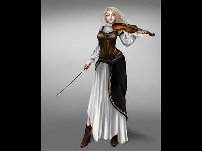 Original character Hilda digitalart design art arts anime иллюстрация characterdesign character painting illustration art design