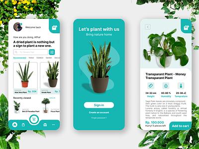 Online Shop : Mobile App uiux ux onlineshop ui mockup mobile design app apps alwendcode