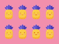 Pineapple emoji