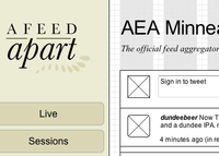 Super-secret-sneak-preview of AFA, Wireframes Edition